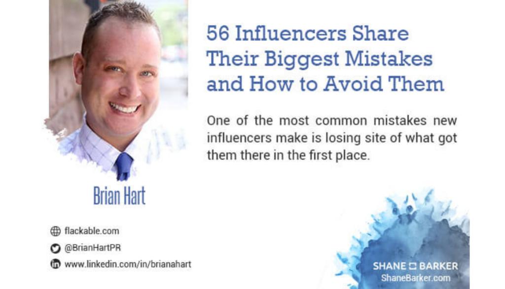 Shane Barker Influencer Mistakes