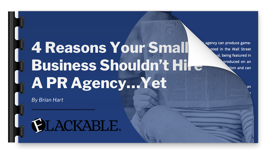 4 Reasons Your Small Business Shouldn't Hire a PR Agency... Yet presentation