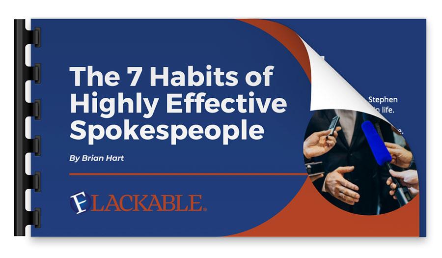 7 Habits of Highly Effective Spokespeople presentation