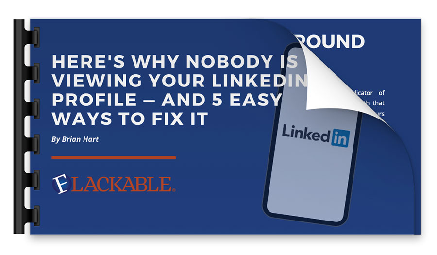 Here's Why Nobody is Viewing Your Linked in Profile - and 5 Easy Ways to Fix It presentation