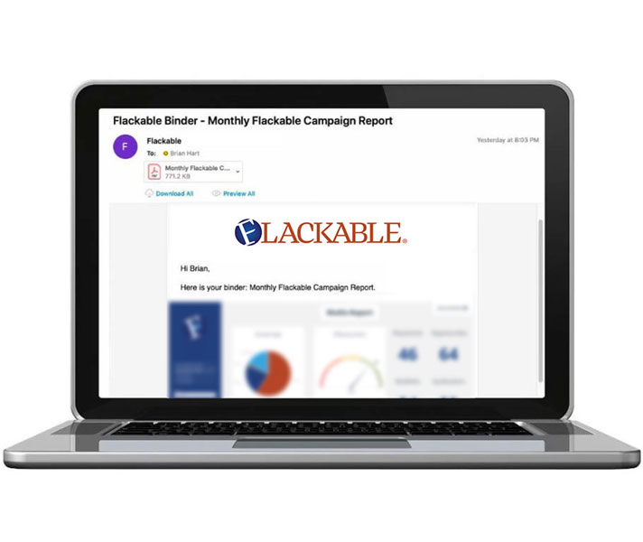 Flackable Automated Reporting